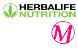 logo herbalife witte rand met vignet kle