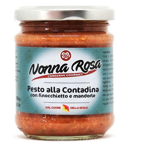 PESTO ALLA CONTADINA FINOCCHIETTO ET AMANDES  180gr