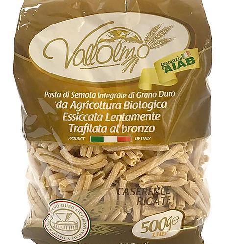 caserecce intégrales 500gr Vallolmo