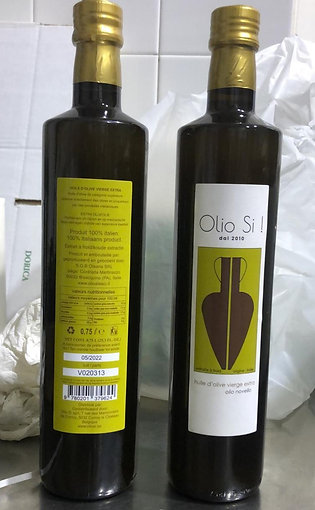 "Huile d'olive vierge extra ""Olio Si!"" novello 0,75L"
