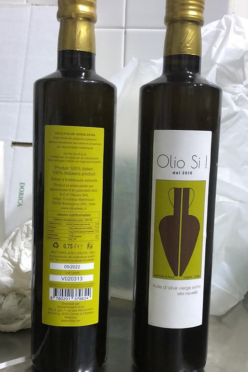 "Huile d'olive vierge extra ""Olio Si!"" novello 0,75L"