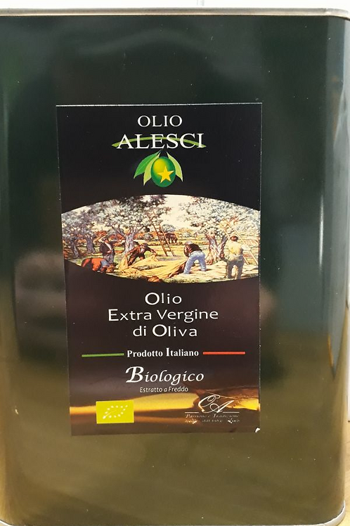 Huile d'olive vierge extra bio Alesci 2L