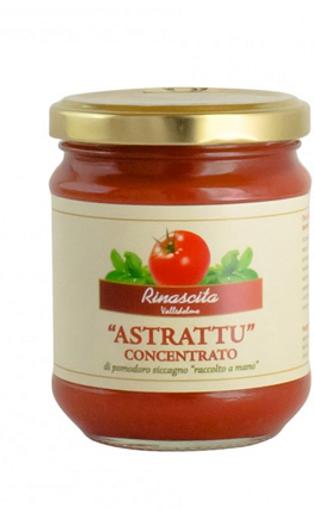 "Concentré de tomates ""astrattu""  300gr LA RINASCITA BIO"