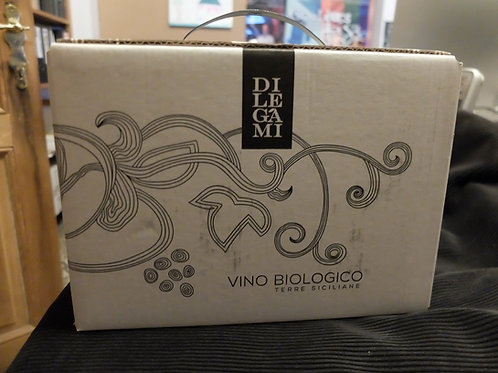 Bag in Box 3L vin rouge bio NERO D'AVOLA doc 2019, Di Legami