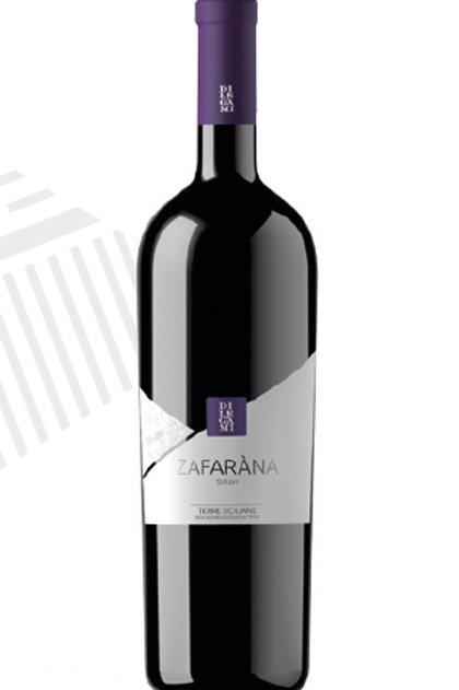 Syrah bio Zafaràna 2018 ou 2019 vin rouge 0,75L Di Legami