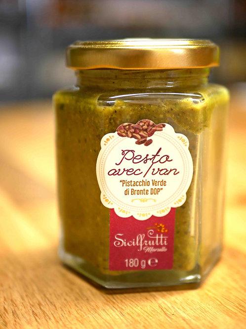 Pesto de pistaches 180gr, Sicilfrutti