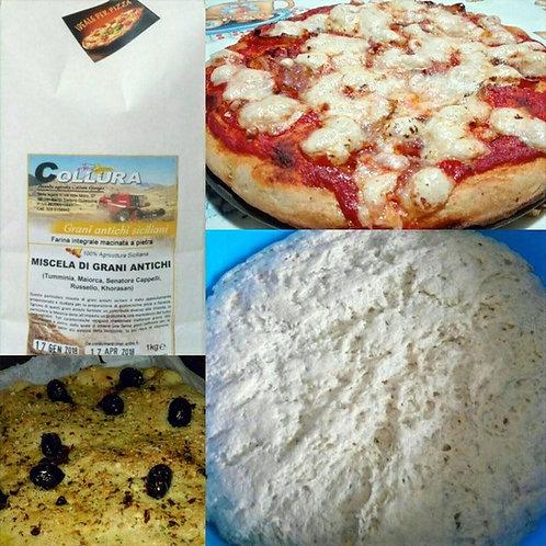 Farine spéciale pizza 1kg, Giorgio Collura