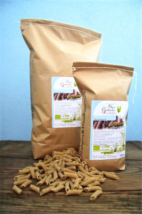 Penne de riz (pâtes sans gluten) bio 450gr