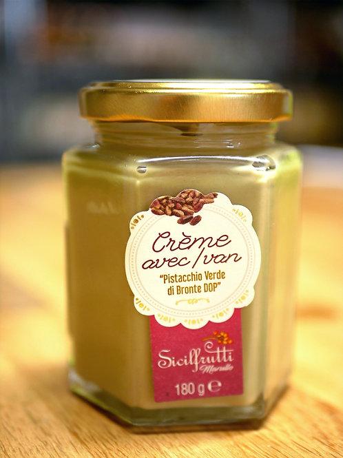 Crème de pistaches (sucrée) 180gr, Sicilfrutti