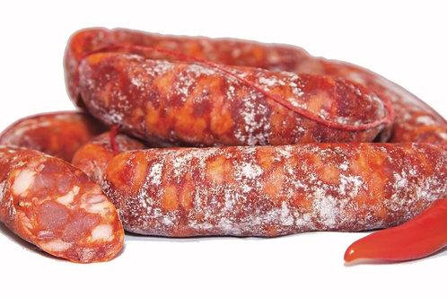 Saucisse séchée piquante, +/- 200gr, Fratelli Fasolo