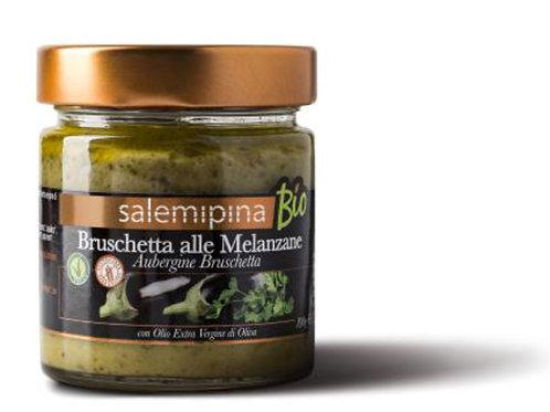 Bruschetta aubergines bio 180gr SalemiPina
