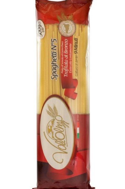 Spaghetti conventionnel 500gr Coopérative Vallolmo