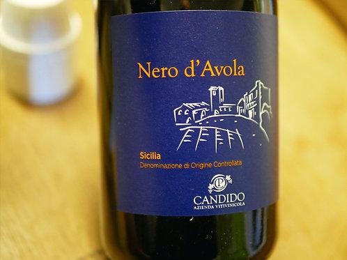 Nero d'Avola bio 2018 vin rouge 0,75L Candido
