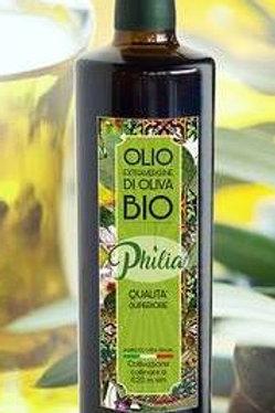 Huile d'olive vierge extra bio Philia 0,50L