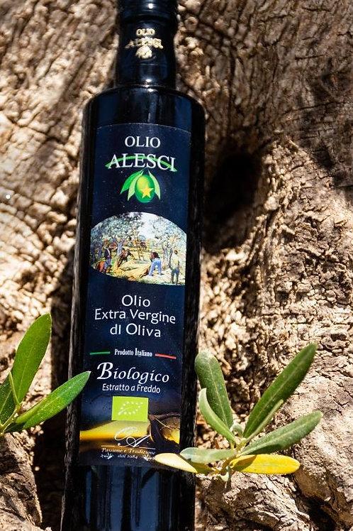 Huile d'olive vierge extra bio Alesci 0,5L