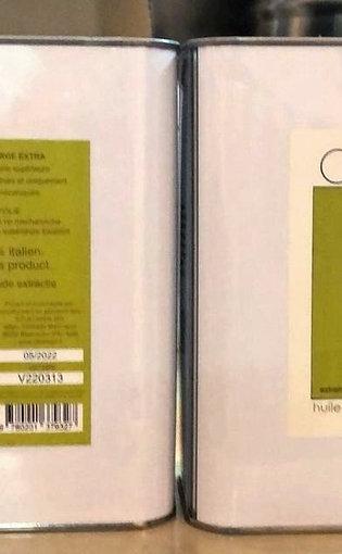 "Huile d'olive vierge extra ""Olio Si"" novello 2L"