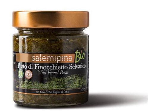 Pesto bio de finocchietto 190gr SalemiPina