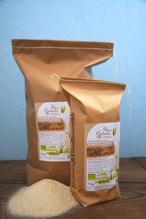Polenta de riz complet bio (farine précuite) 1kg