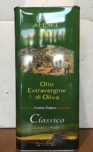 Huile d'olive vierge extra classico Alesci 5L