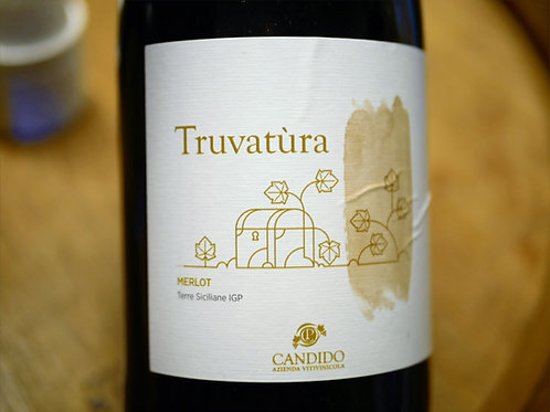 "Merlot ""Truvatura"" bio 2016 vin rouge 0,75L Candido"