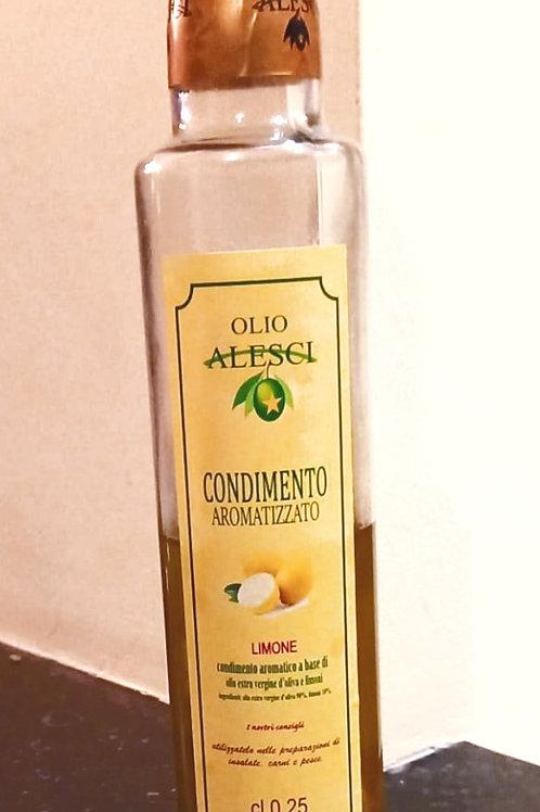 Huile aromatisée au citron 25cl