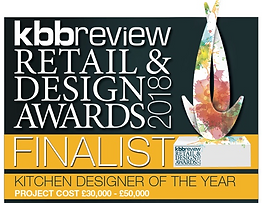 KBB Review Retail and Design Awards 2018 Finalist Kitchen Designer of the Year £30,000 - £50,000