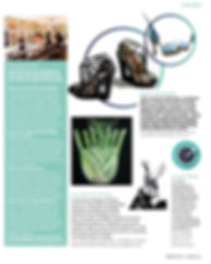 Felicty Lord Property Magazine preview of fine art show, featuring fennel painting by Laura Gompertz