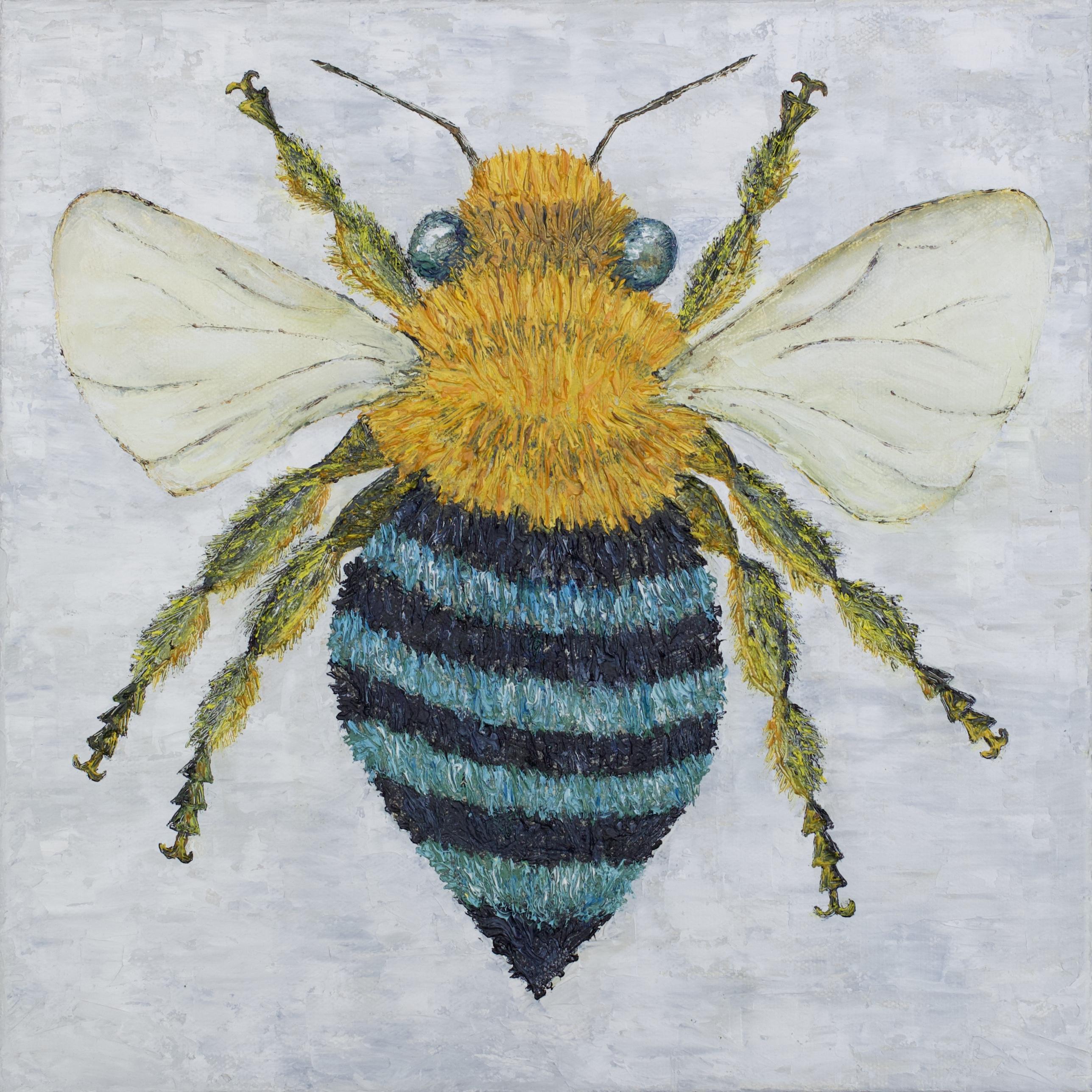 Australian Blue Bee