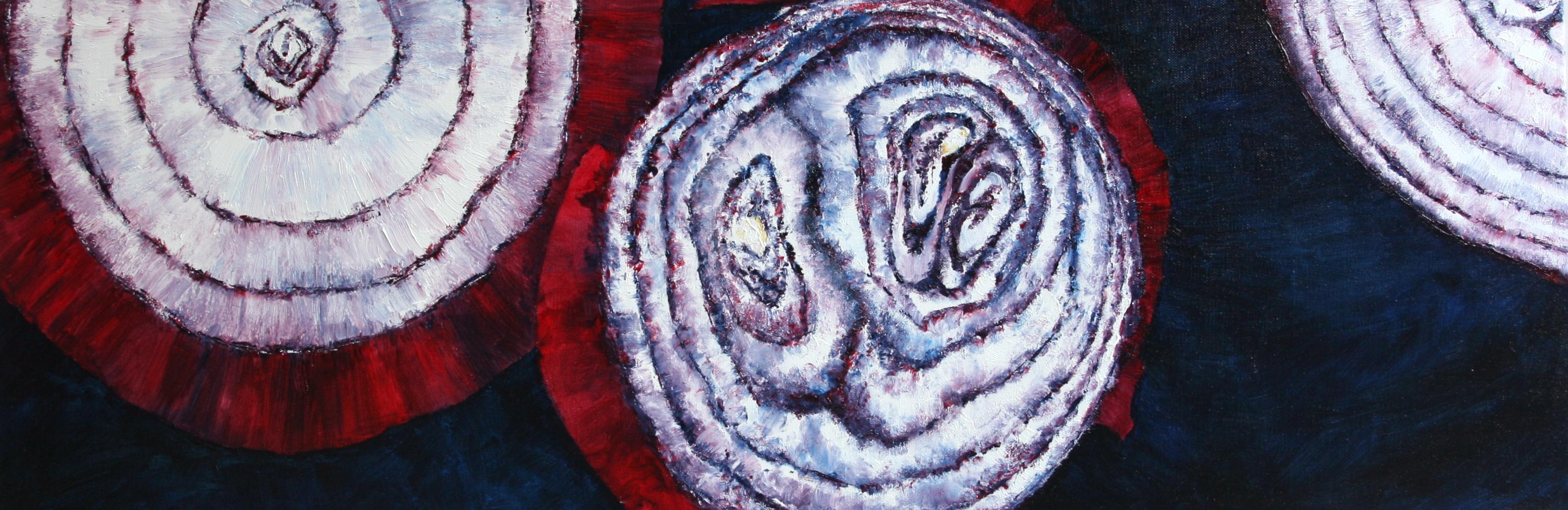 Three Red Onion Rings 2