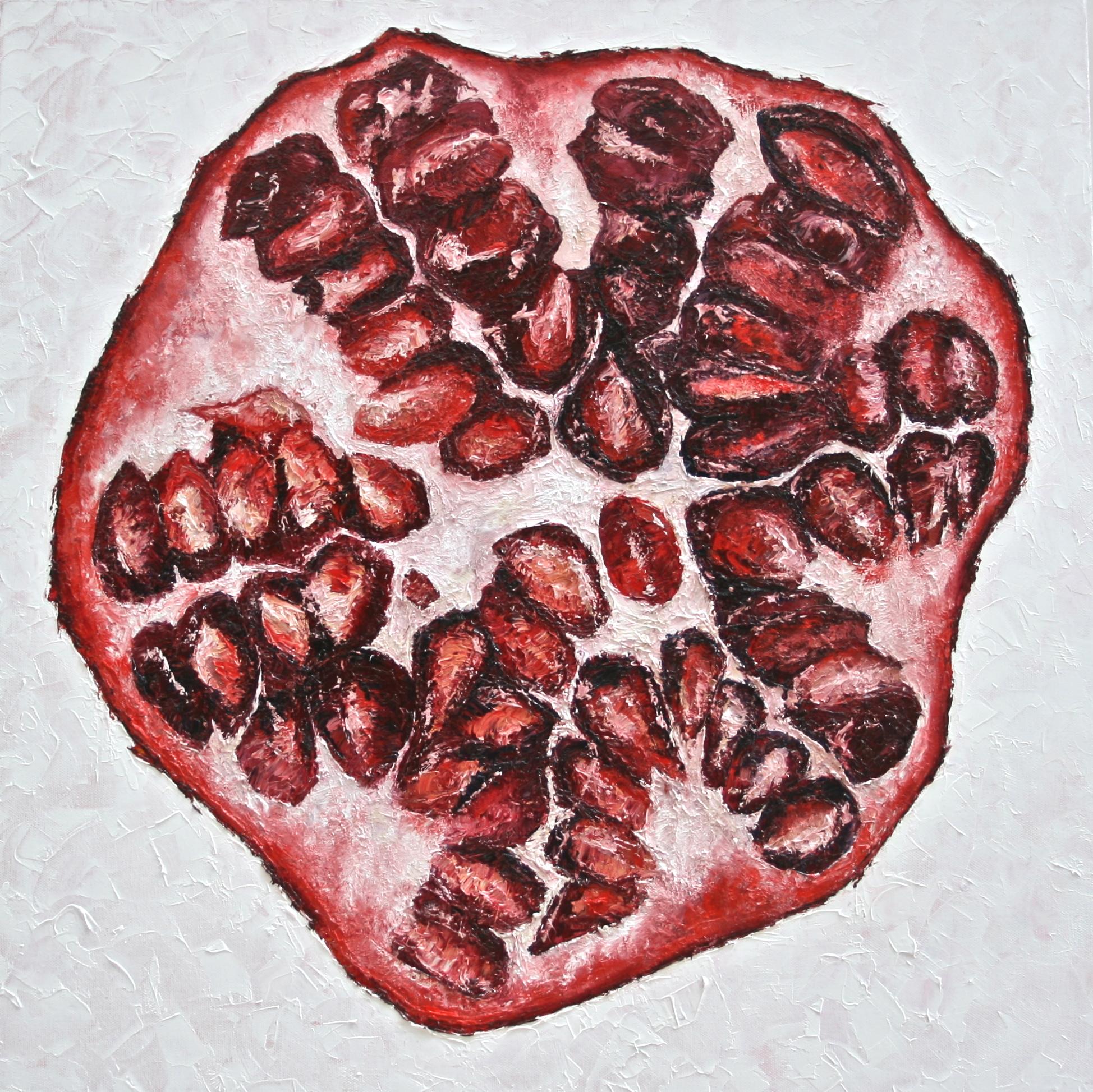 Half Pomegranate 2