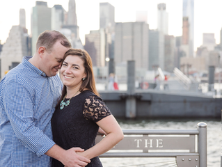 A New York City Engagement Session | Massachusetts Wedding Photographer