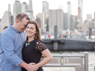 A New York City Engagement Session | Massachusetts Wedding Photographer