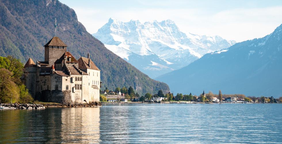 Suïssa porpera: Montreux i Fribourg