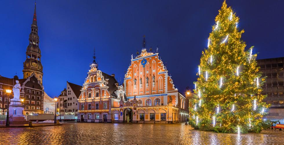 Riga i Tallin, Mercats de Nadal