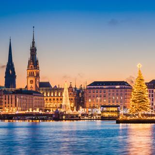 Hamburg, Bremen i Lübeck