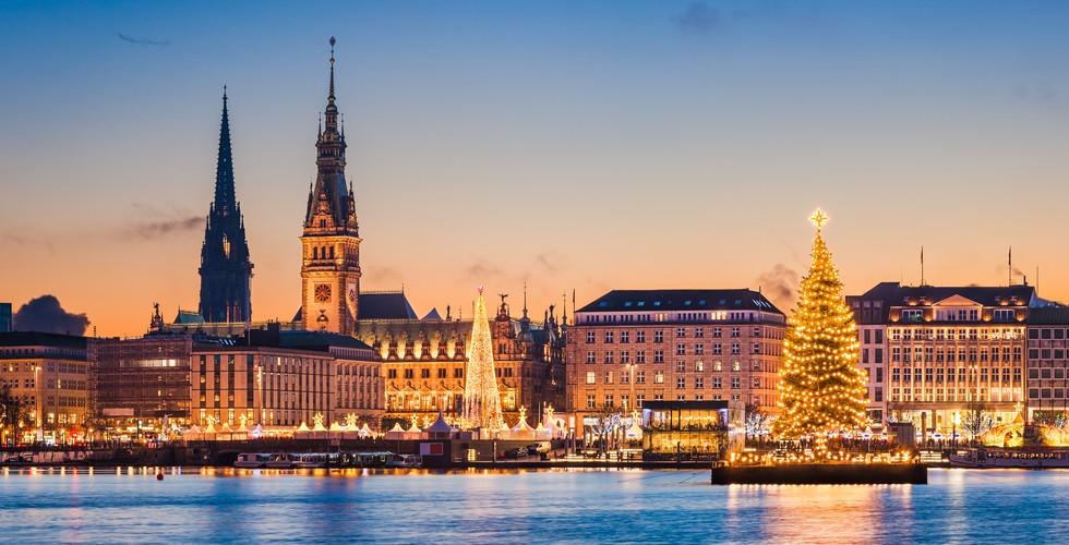 Hamburg, Bremen i Lübeck, Mercats de Nadal