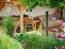 Kräutergarten genießen, Rührtage im Kräutergarten, Lerntage im Kräutergarten