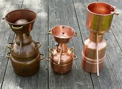 Verschiedene Destillen