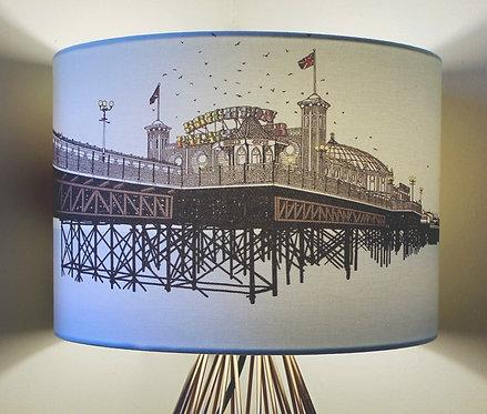 Blue Pier Lampshade