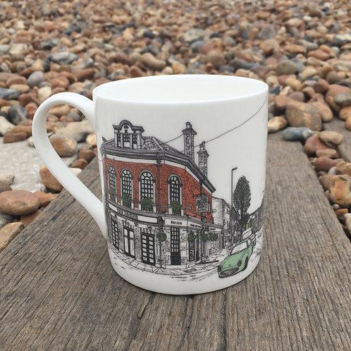 Preston Circus Fine china mug
