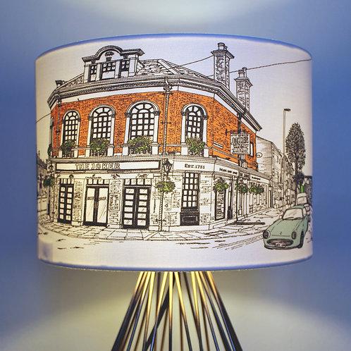 Brighton Joker Pub lampshade