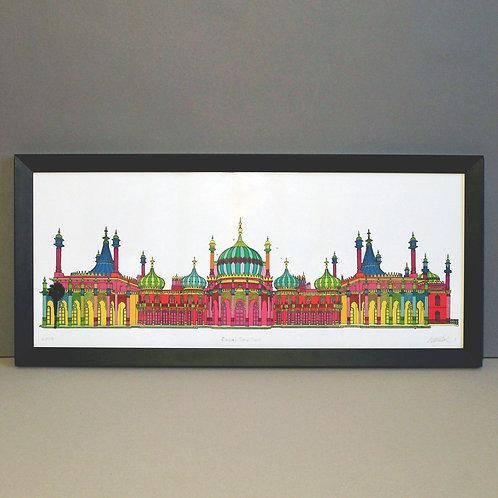 Bright Pavilion Giclée Print