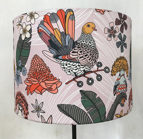 Pink Pigeon Lampshade