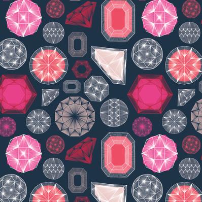 Brilliant Gems pattern