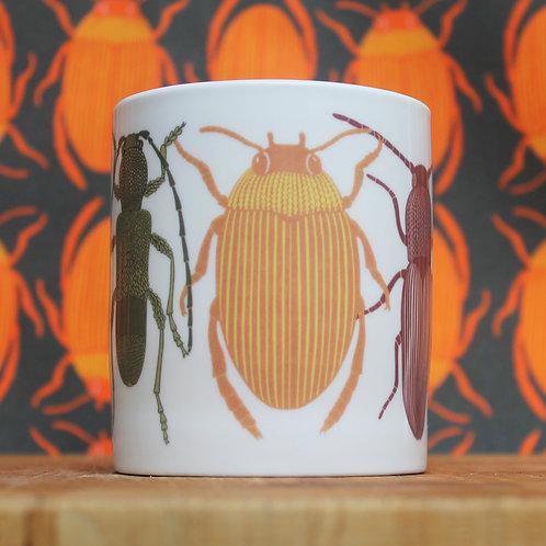 Orange Bug Mug