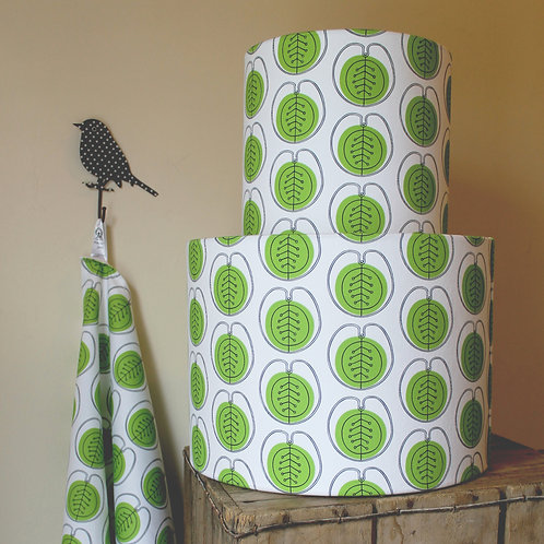 Pennycress pattern lampshade