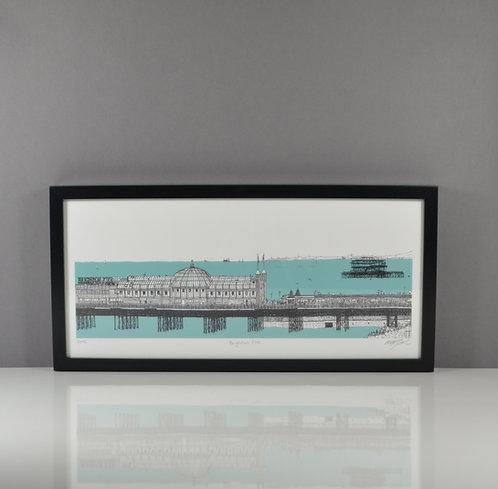 Brighton Pier Giclée Print