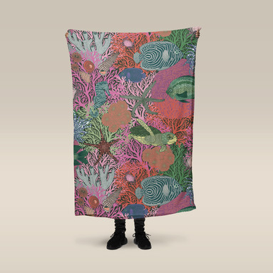 Underwater Love Blanket
