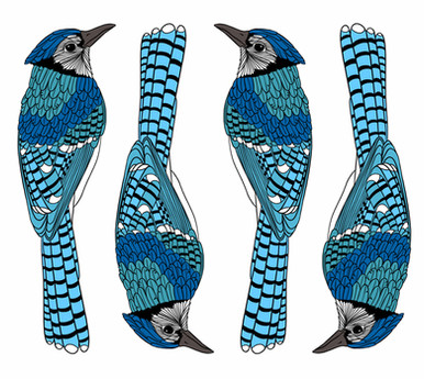 Bluejays pattern