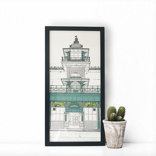Madeira Lift Giclée Print